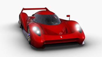 Formás lesz a Glickenhaus Le Mans-i versenygépe