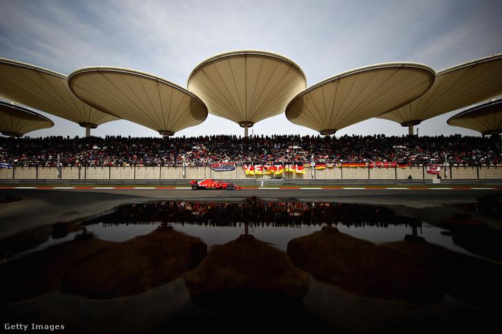 Vettel a 2018-as Kínai Nagydíjon