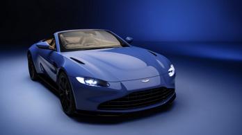 Az Aston Martiné a leggyorsabb tetejű sportkocsi