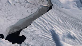 310 négyzekilométeres jéghegy szakadt le az Antarktiszról