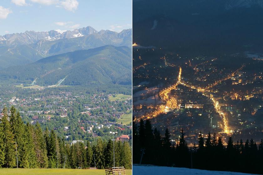 Éjjel-nappal csodaszép Zakopane városa: levegője jót tesz a tüdőbetegeknek is
