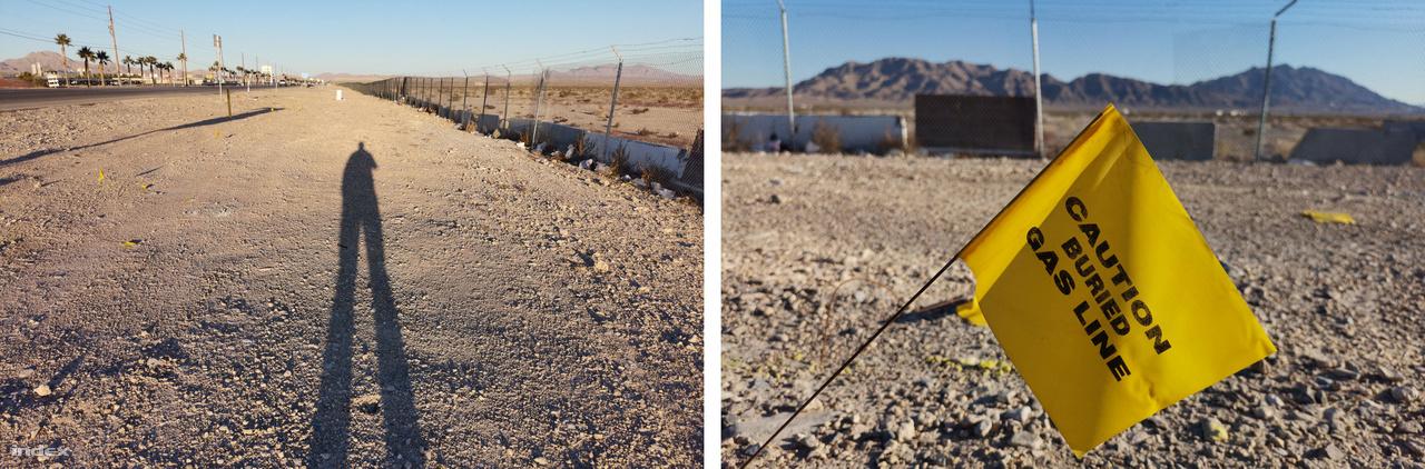 Az úttestet és a bázis kerítését egy jó 15 méteres kietlen sáv választotta el, a felszín alatt gázvezeték, fölötte életnek semmi nyoma, csak autókból kidobált szemét, a kerítés tövében élet-halál közt tengődő kórók. Az alacsonyan járó januári nap kellemesen sütött, volt vagy 15-20 fok, a sivatagi csendet a ritkás szombat délutáni forgalom zaja törte csak meg olykor.