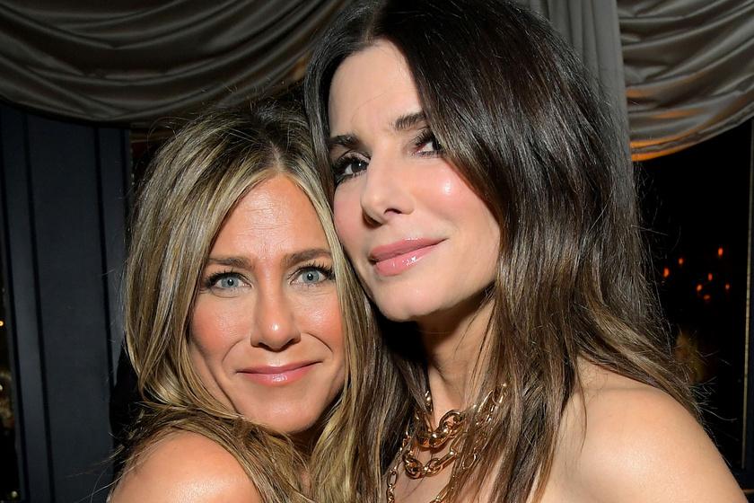 Jennifer Aniston és Sandra Bullock ugyanazt a férfit szerette - Mégis jó barátnők lettek