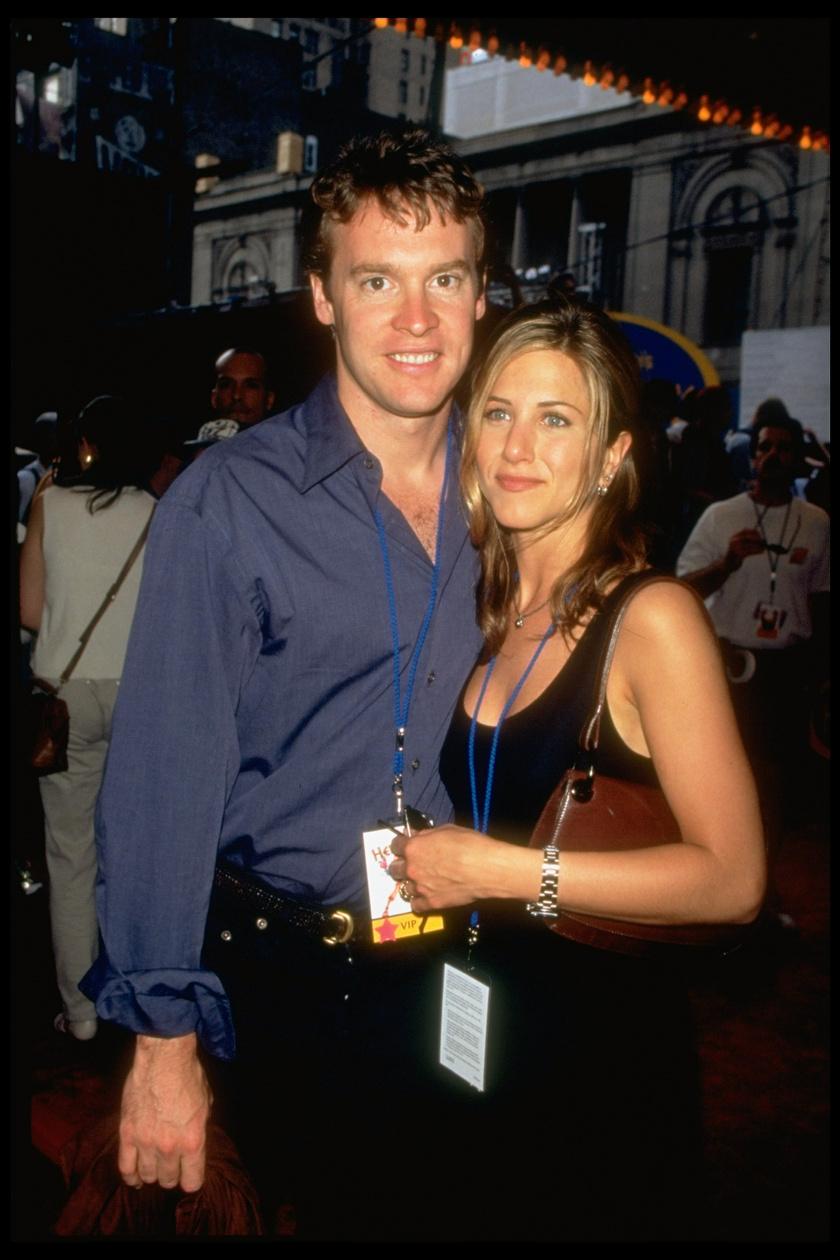 Jennifer Aniston és Tate Donovan 1995-től 1998-ig alkottak egy párt.