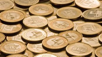 340 forint felett az euró