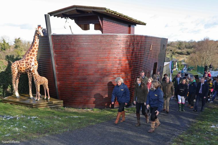 Katalin hercegné  minap a Belfasthoz közeli The Ark Open Farmon járt, ahol egy olyan felmérést támogatott, mely szülőket és nagyszülőket kérdez arról, milyen tapasztalataik vannak a gyereknevelésben