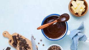 Hogyan lesz fényes a csokimáz? Itt az egyszerű megoldás