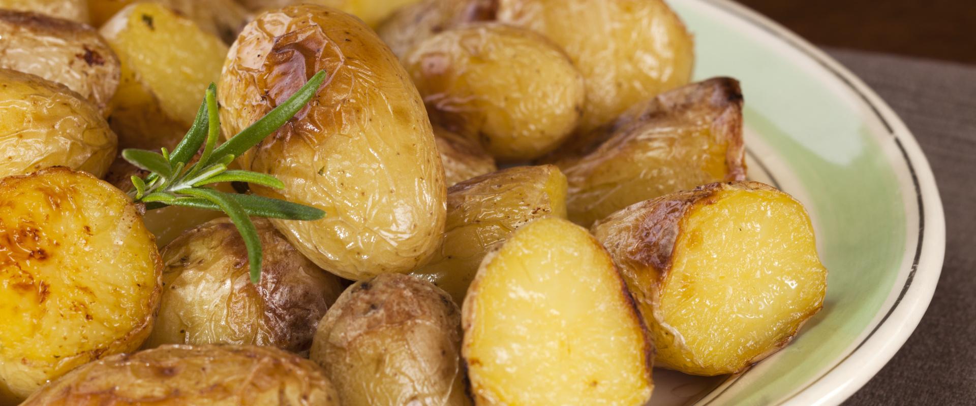mustárral sült újkrumpli