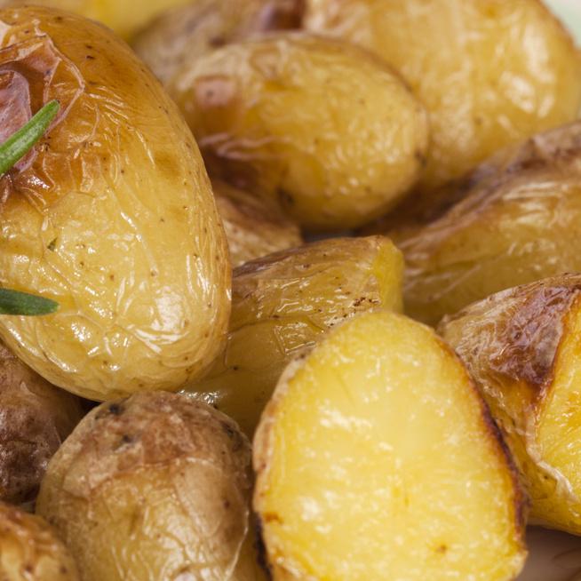 Mustárral sült újkrumpli – Önmagában és köretnek is tökéletes