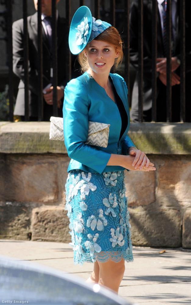 A hercegnő leginkább közeli esküvőjének (na meg Meghan Markle kapitulációjának) köszönheti, hogy egyre többet cikkeznek róla