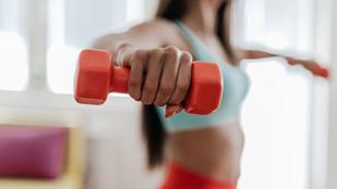 Erre figyelj, ha kézi súlyzóval edzel otthon