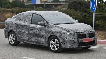 Kémfotókon az új Dacia Logan