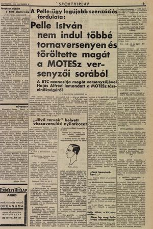 Sporthirlap,-1932.-december