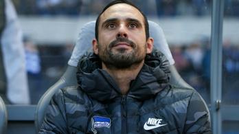 Alacsonyan a léc a Hertha ideiglenes edzőjének