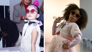 Már 4 éves kortól menőznek az influenszer-kislányok a New York-i divathéten