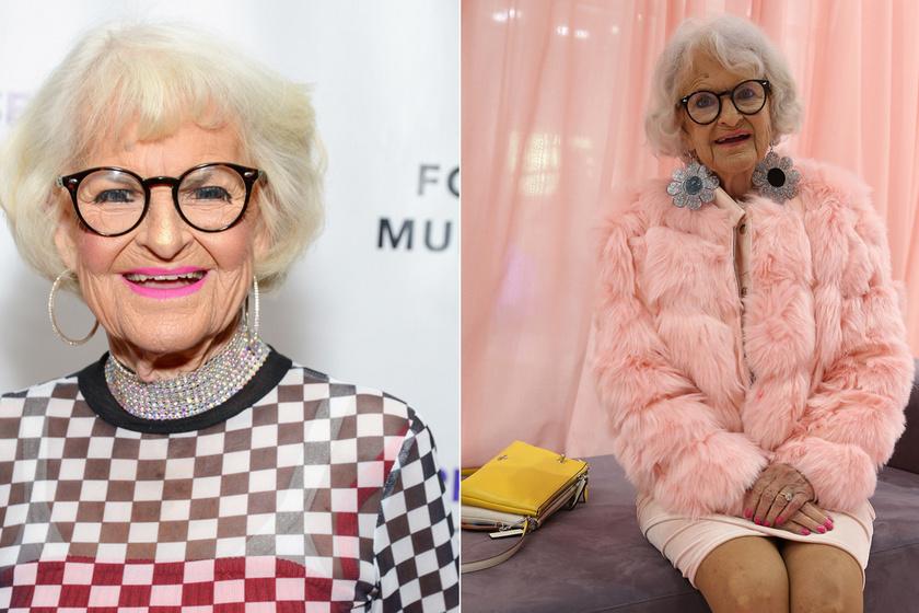 A 91 éves nagyi úgy öltözködik, amilyet még nem láttunk: 4 millió ember imádja az Instán