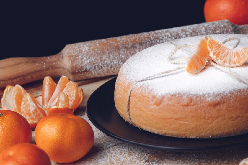 mandarin torta recept