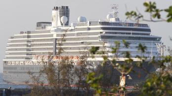 Koronavírus: Negatív lett a Kambodzsában kikötő hajón utazók tesztje