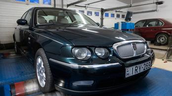 Totalcar Erőmérő: Rover 75 2.0 V6