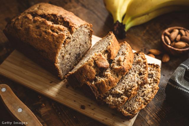 Végtelenül puha és illatos banánkenyér reggelire, tízóraira, uzsonnára, vagy ha vendégeket várunk.