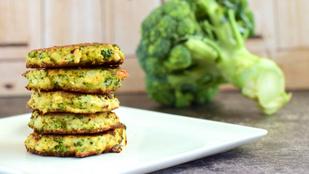 Brokkolis lepénykék: húsmentes finomság glutén- és tojásmentesen