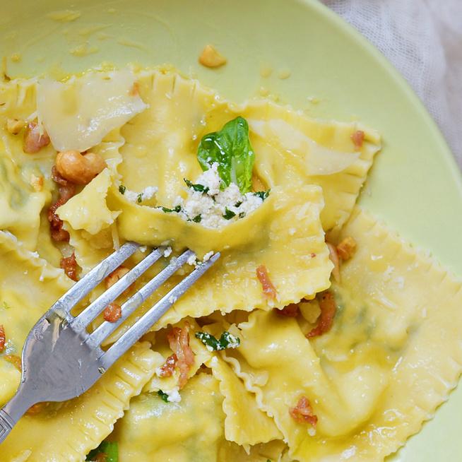 Így készül az olasz ravioli házilag: ricottával és spenóttal töltve a legfinomabb