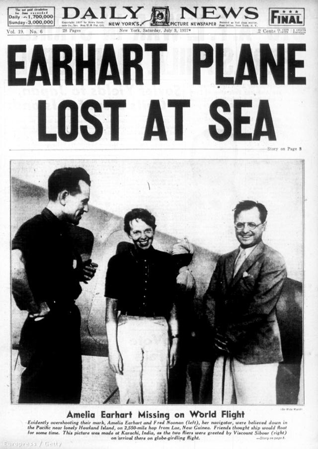 Earhart 1937. július 2-án helyi idő szerint 7 óra 42 perckor küldte az utolsó üzenetet a levegőből. Az  üzenetben szereplő koordináták valószínűleg tévesek voltak, és nem a Howland-sziget, hanem a Gardner-sziget (mai nevén Nikumaroro) felé tartottak. A TIGHAR kutatói szerint a kényszerleszállást túlélők addig küldhették a rádiójeleket, amíg az ár le nem mosta a zátonyról a repülőgépet és utasait. Mindez az előtt történhetett, hogy az amerikai haditengerészet gépei átfésülték a terepet.