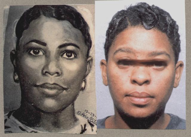 A képen látható nőt órák alatt elkapták azután, hogy ellopott egy 10 hónapos csecsemőt egy kórházból