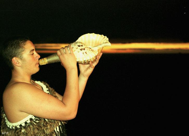 A Chatham-szigeteken élő népcsoport egy tagja