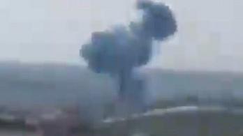 Megint lelőttek egy helikoptert Szíriában