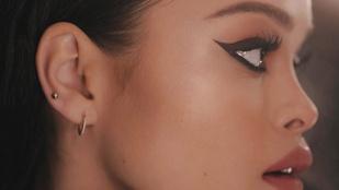 Rihanna-hasonmás tűnt fel Rosie Huntongton-Whiteley reklámfotóin