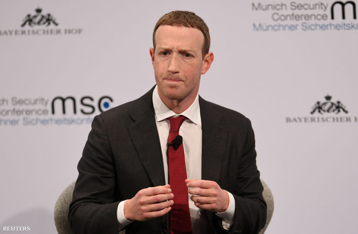 Mark Zuckerberg a müncheni konferencián