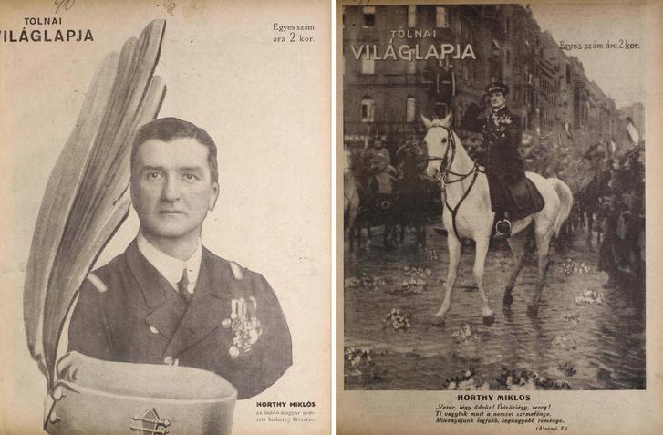 Horthy Miklós két címlapon, 1919. novemberében