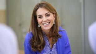 Első podcastjában máris magánéletéről beszélt Kate Middleton