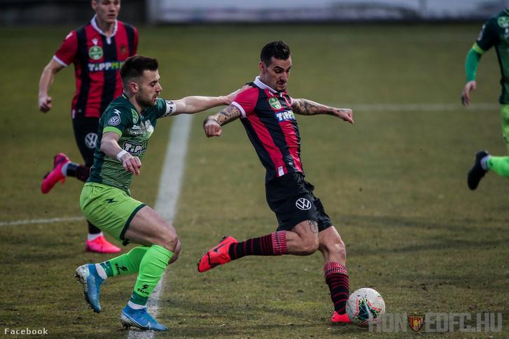Lanzafame lövése a Kaposvári Rákóczi FC–Budapest Honvéd FC szombati mérkőzésen