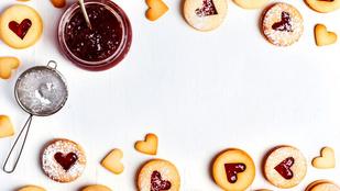 Egyszerű és gyors süti: hagyományos linzerkarika