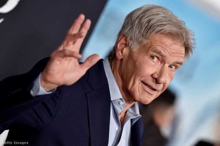 Harrison Ford egy filmbemutatón Los Angelesben 2020. február 13-án