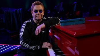 Tüdőgyulladás miatt szakította félbe Elton John a koncertjét