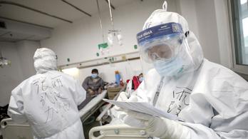 Egy nap alatt 105 embert ölt meg a koronavírus