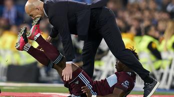 Letarolta Zidane-t a Celta Vigo nagyot küzdő védője