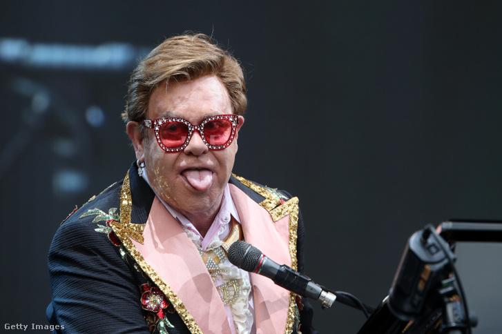 Elton John az aucklandi koncerten