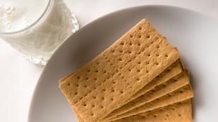 Két hozzávalós egészséges kréker glutén- és tejmentesen