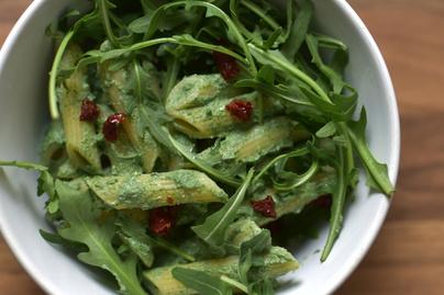 Ricottás-spenótos tészta, ahogy az olaszok szeretik: nagyon zöld és nagyon finom