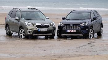 Összehasonlító: Subaru Forester e-Boxer a Toyota RAV4 Hybrid ellen – 2020.