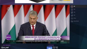 Eddig hatszor játszotta le a köztévé Orbán teljes beszédét