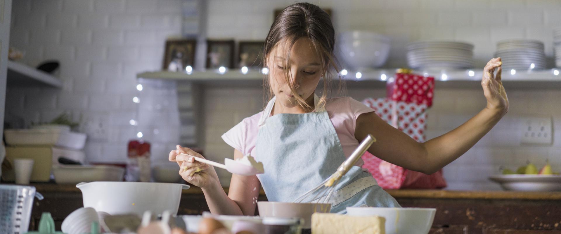 gyerek főz