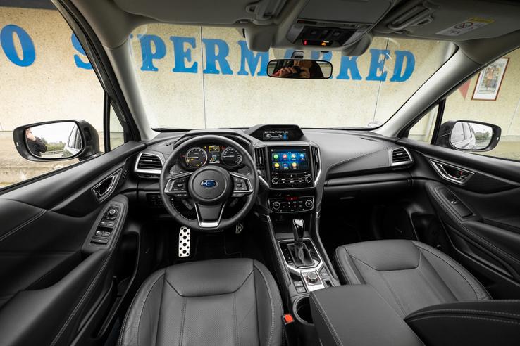 Régimódibb, de több gondoskodásról tanúskodik a Subaru utastere