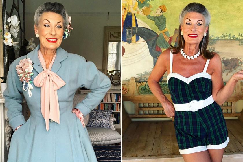 62 évesen is büszkén mutatja meg magát fehérneműben vagy smink nélkül: Nikki Redcliffe a tökéletes nő