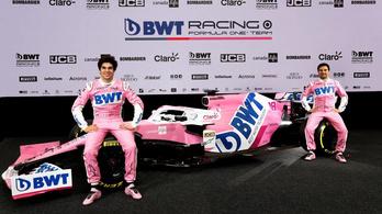 A pink F1-autó pinkebb, mint valaha