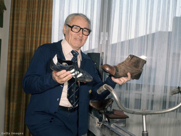 Adolf Dassler 1975-ben